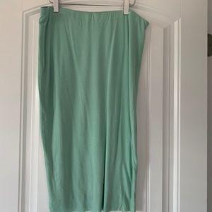 Vince Camuto Tube Skirt Mint Green